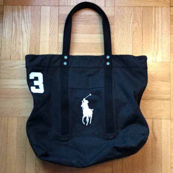 5ba45fefc20b Polo Ralph Lauren tote bag. M 5bc5d5f1de6f626f398b8141